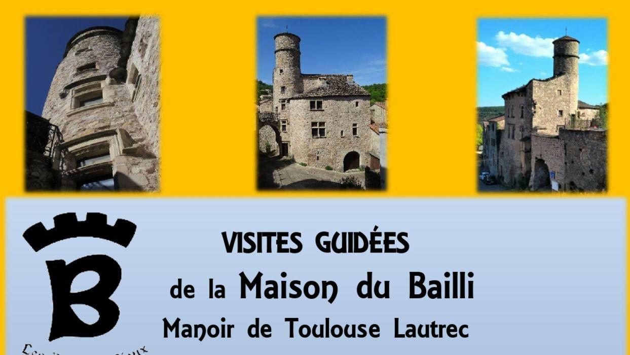 Visite guidée de la Maison du Bailli, manoir de To...